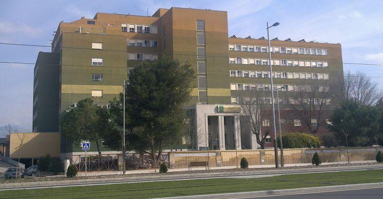 Hospital Neurotraumatológico de Jaén, centro al que fueron trasladados los heridos de uno de los accidentes.