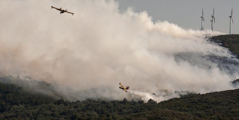 Ourense vuelve a encabezar el número de hectáreas quemadas