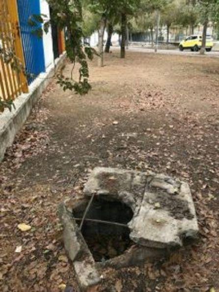 Ratas en el colegio Valeriano Bécquer