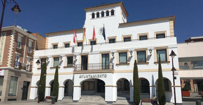 Fachada del ayuntamiento de San Sebastián de los Reyes