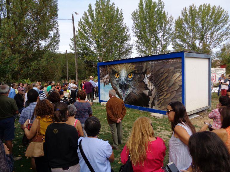 La ruta de murales de Tubilla del Lago recibio el apoyo económico de la ADRI Ribera del Duero
