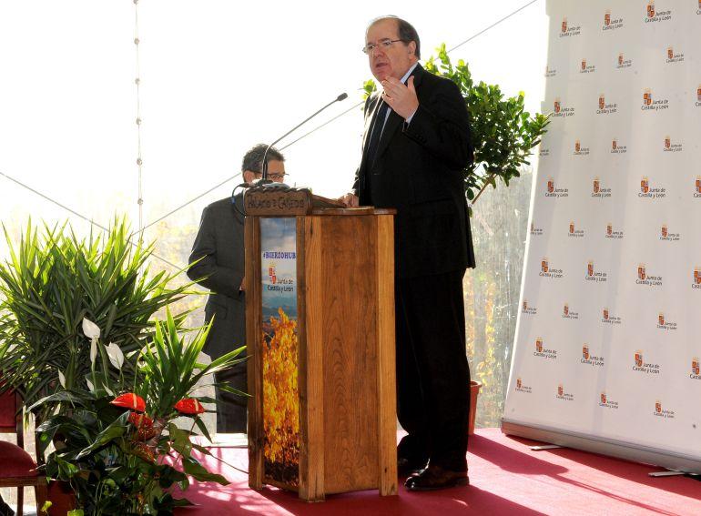 El presidente de la Junta, Juan Vicente Herrera, en su intervención