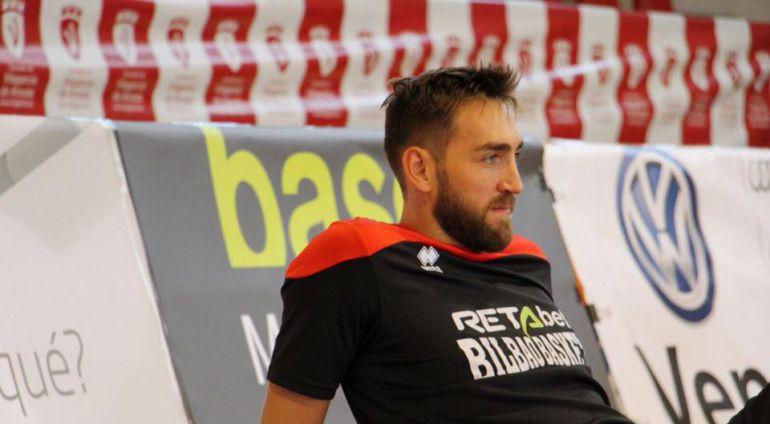 Axel Hervelle, durante un entrenamiento