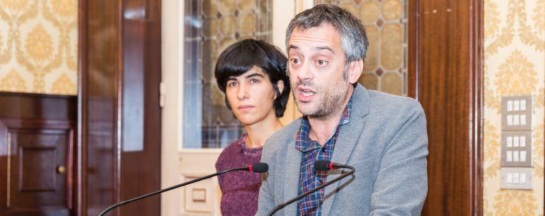 Claudia Delso y Xulio Ferreiro