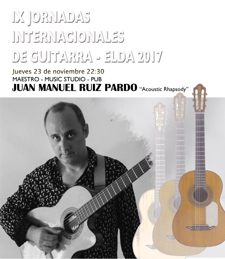 El concierto de Juan Manuel Ruiz comenzará a las 22:30 horas