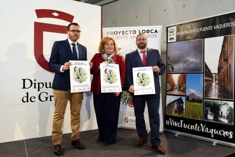 """Presentación del programa """"Lorca en Fuente Vaqueros"""""""