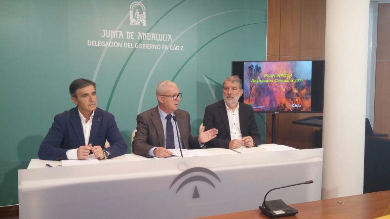 Responsables de la Junta y el Plan Infoca presentan el balance de incendios de esta temporada
