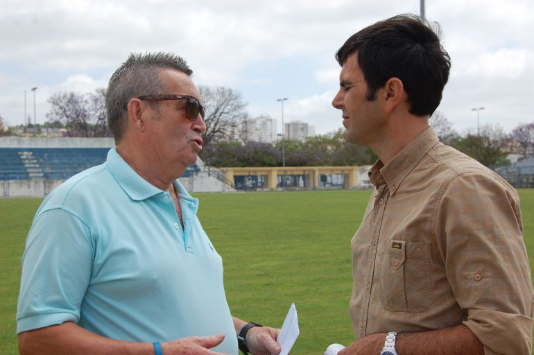 Pedro Garrido junto a Salvador Beato en La Juventud