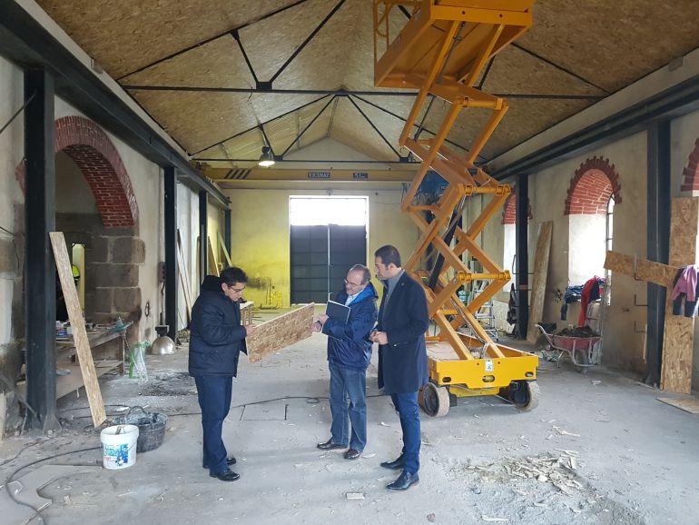 El alcalde de Cervo y el concelleiro de Patrimonio supervisaron las obras