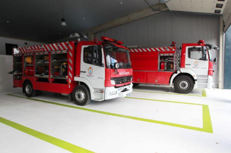 Los bomberos de los parques comarcales de Lugo solo cubren emergencias, en protesta por su situación