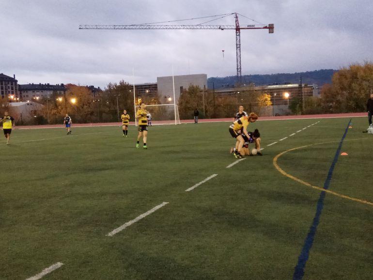 Pleno de victorias para os equipos feminino e masculino do Auriense, na liga Galega de Fútbol Gaélico