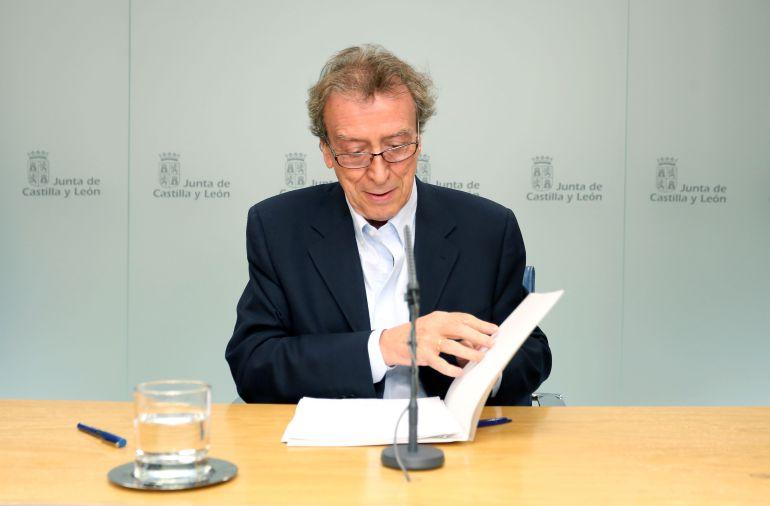 José Antonio de Santiago-Juárez López, vicepresidente y consejero de la Presidencia de la Junta de Castilla y León