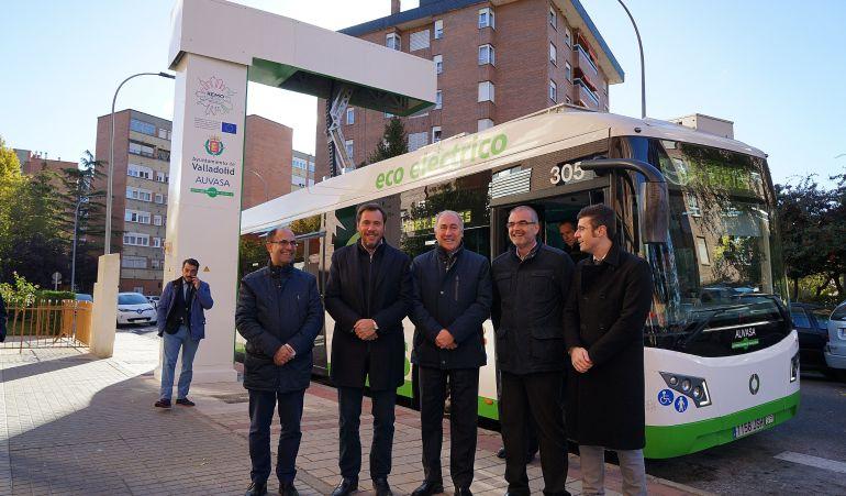 Presentación de la primera línea de bus electrificada de España