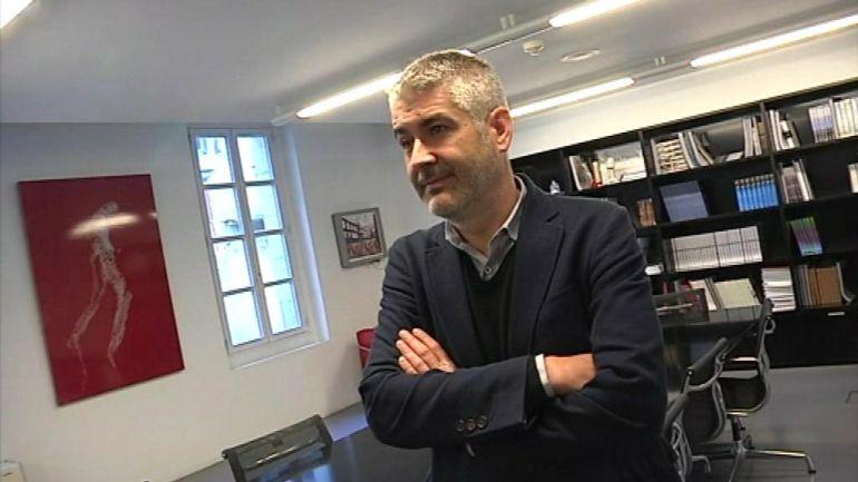 El ex director del MARCO de Vigo, Iñaki Martínez Antelo.
