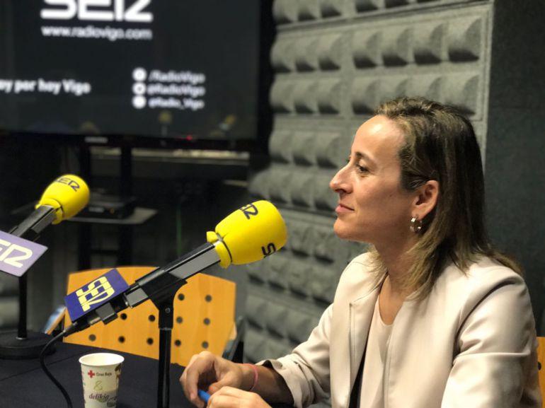 Ethel Vázquez pasó por el tiempo de Vigo Hoy por Hoy