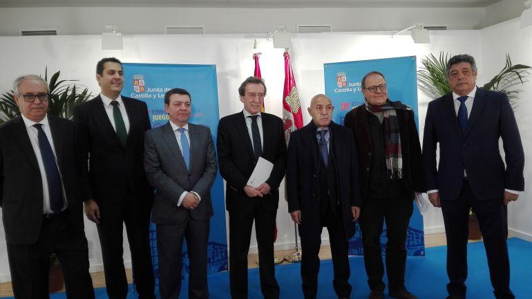 Representantes de las administraciones autonómica y local en el Congreso de Juego