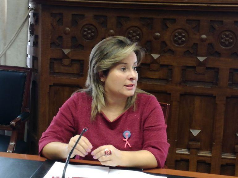 Esther Pérez Vicepresidenta de la Diputación