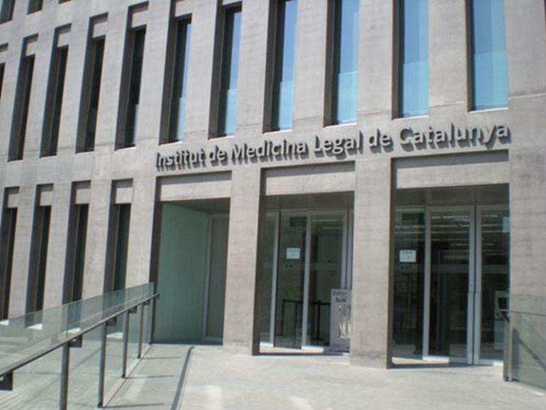 L'Institut de Medicina Legal, on ara dormen els menors de la Ciutat de la Justícia