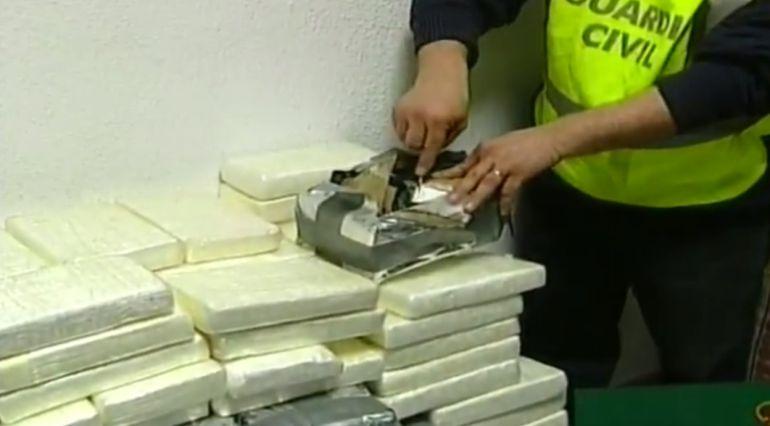 Guardia Civil realiza el narcotest que confirma el positivo en cocaína