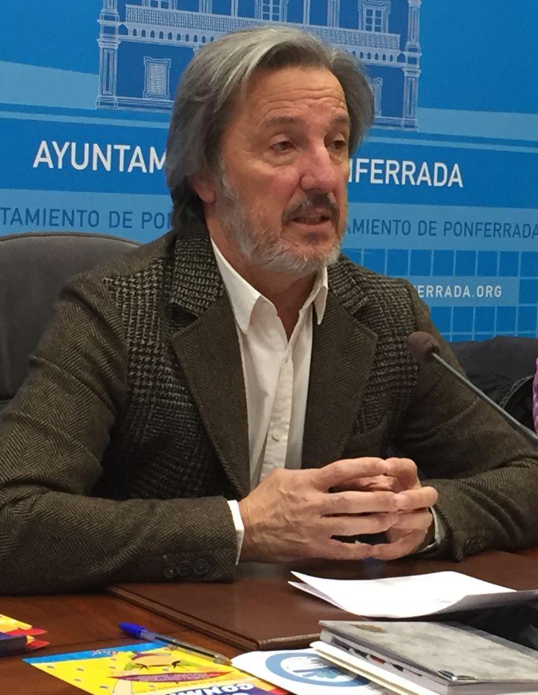 Pedro Muñoz, responable de Coalición por el Bierzo
