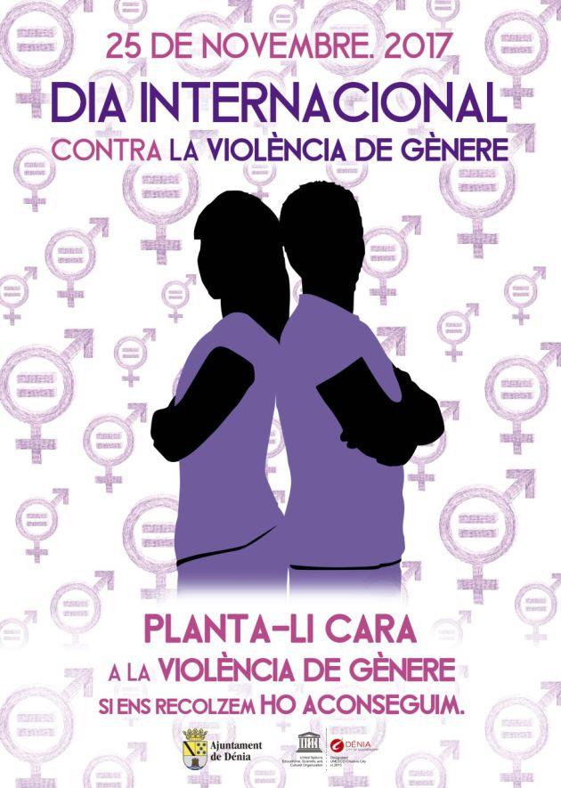 Cartel de la Campaña Violencia de Género