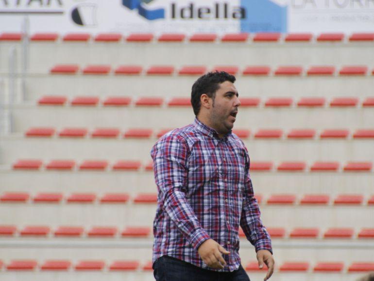 Juan Castillo, entrenador del Idella C. F.