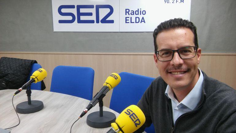 Rubén Alfaro, alcalde de Elda, en Radio Elda Cadena SER