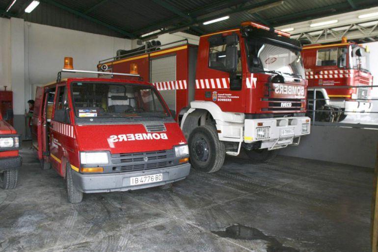 Susto en sa Penya por un incendio