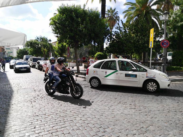 Imagen de la plaza de Las Angustias