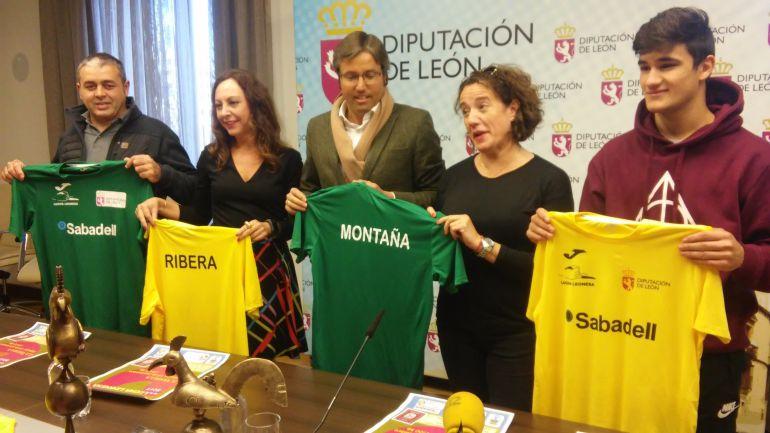 El Ribera - Montaña se presentó en Diputación de León