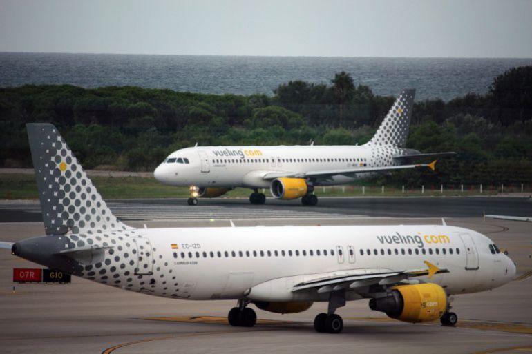 Vueling investiga la expulsión de dos pasajeras de un vuelo a Menorca