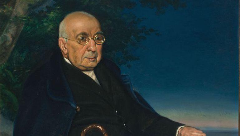 Retrato de Arturo Campión, obra del pintor Javier Ciga