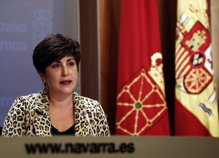 María Solana, consejera portavoz del Gobierno de Navarra