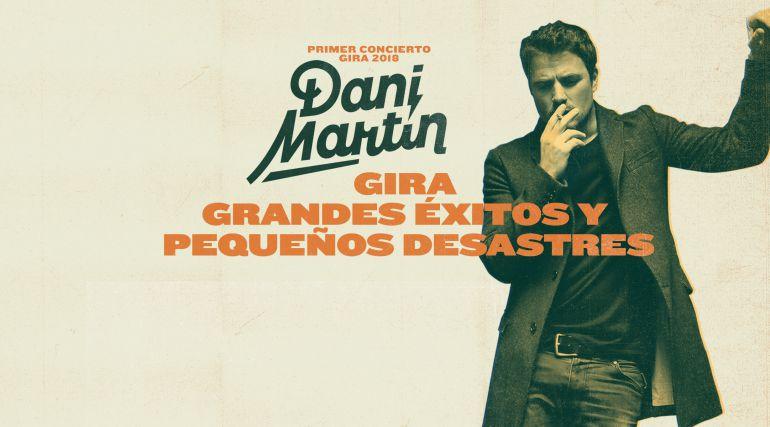 Dani Martín elige Salamanca para comenzar su nueva gira