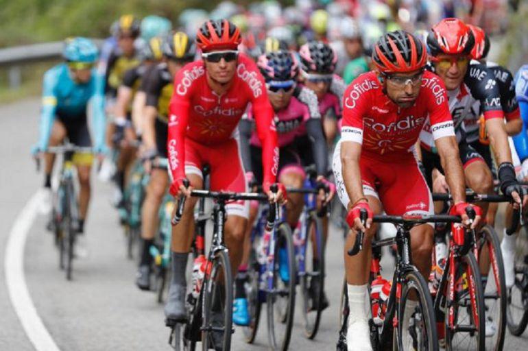 Imagen oficial de La Vuelta correspondiente a una de las etapas de la última ronda.