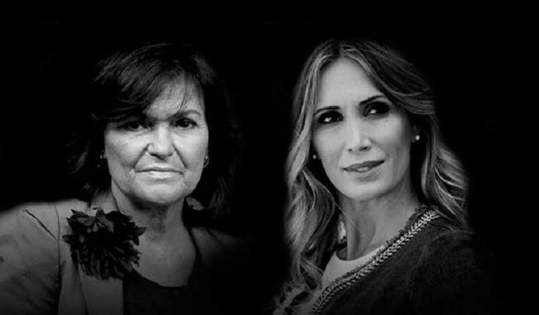 Carmen Calvo, a la izquierda, y Cristina Sánchez protagonizarán una nueva edición de los 'Mano a Mano' de cajasol