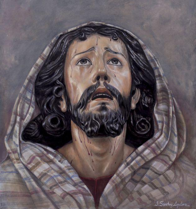 Cartel del Vía Crucis del Consejo en este 2017, presidido por el Señor de la Oración en el Huerto de la Hermandad de Montesión