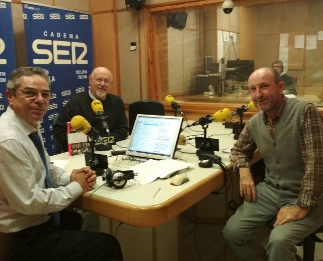 Salomón Hachuel, Eslava Galán y Paco Correal