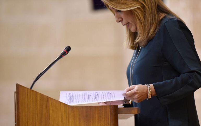 """Susana Díaz: """"Andalucía debe levantar en este momento histórico la bandera de la justicia y la igualdad"""""""