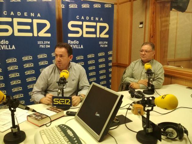 Antonio Guerrero y Jorge Barnés