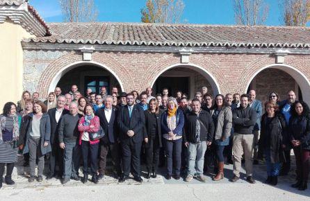 Cerca de cincuenta socios de 'Ávila Auténtica' asistieron a la reunión