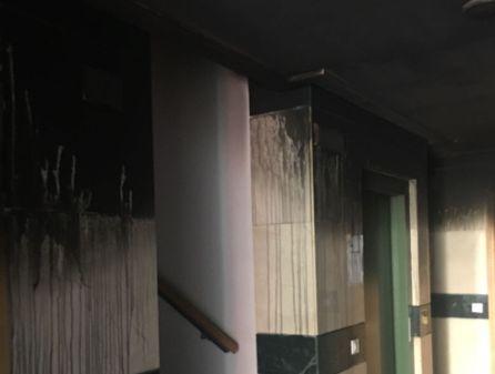 El incendio en una vivienda de Ciudad Real obliga a desalojar a todo el edificio