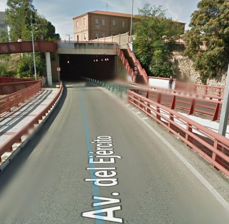 Entrada al túnel de Aguas Vivas
