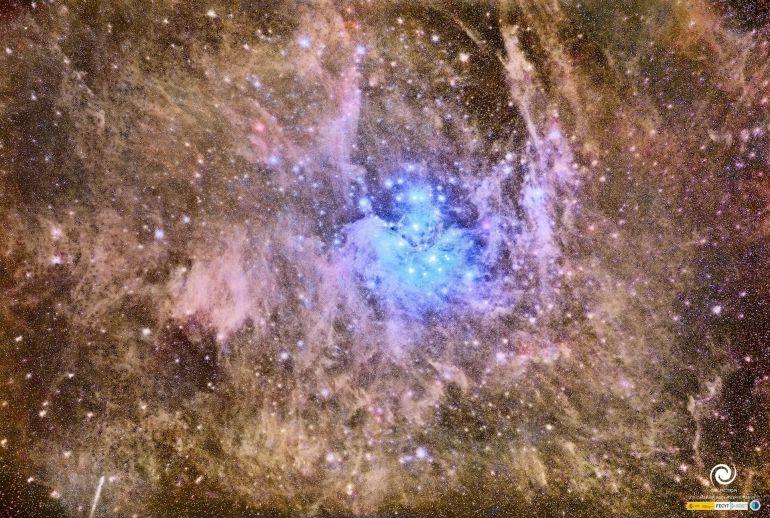Una imagen captada desde Canarias, foto del día de la NASA