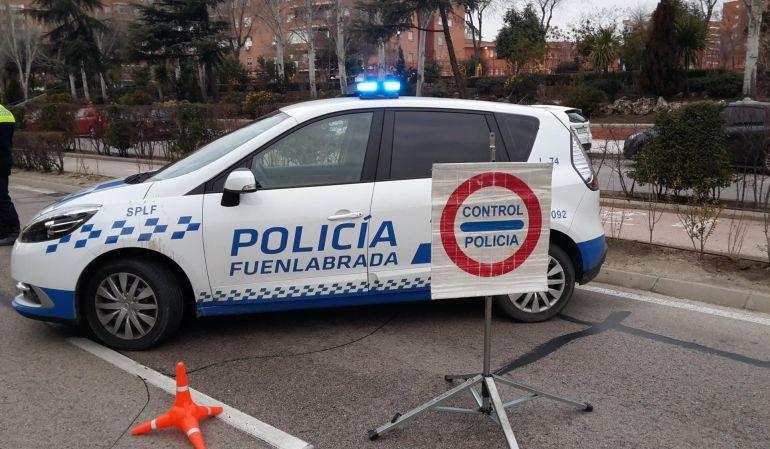La Policía Local de Fuenlabrada realiza de forma periódica controles de alcoholemia en la ciudad.
