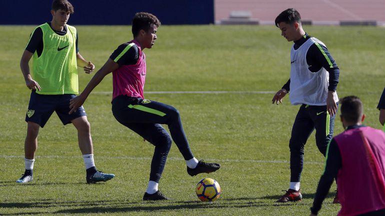Peñaranda y Juanpi novedades en el trabajo del Málaga