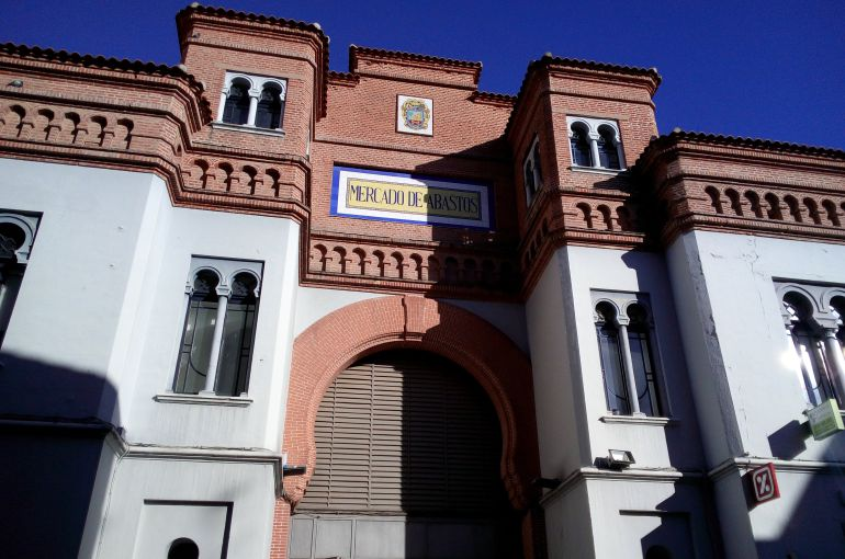 Fachada principal del Mercado de Abastos de Don Benito