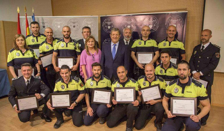 Entrega de galardones de la Policía Local / Ayuntamiento de Villanueva de la Cañada