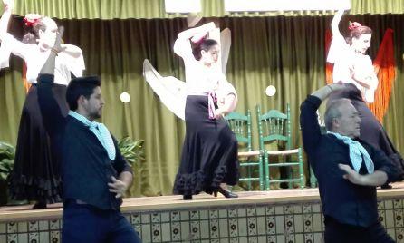 Actuación de baile