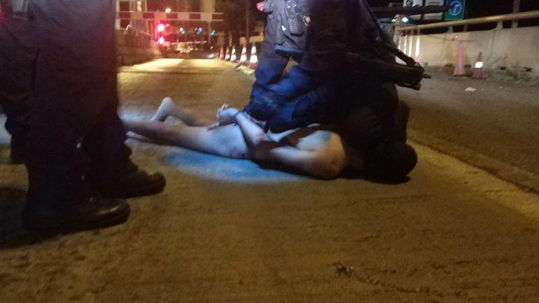 Abatido un hombre en un peaje que bajó de su coche al grito de 'Alá es grande'